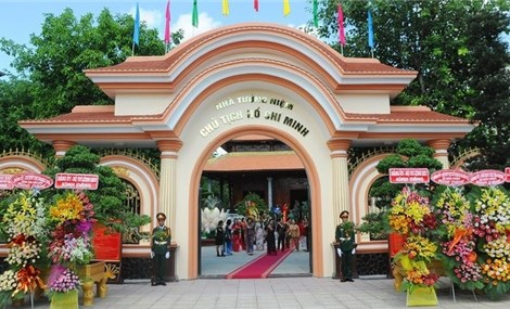 Can Tho inaugurates memorial site for President Ho Chi Minh