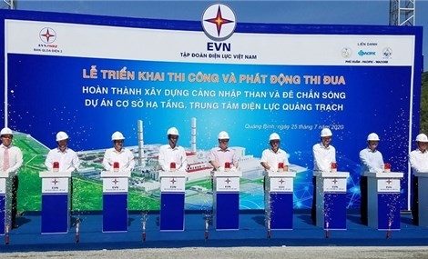 Works start on coal berths and breakwater at Quang Trach Power Centre