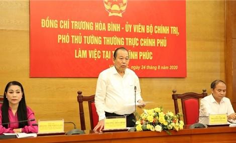 Vinh Phuc urged to accelerate public investment disbursement