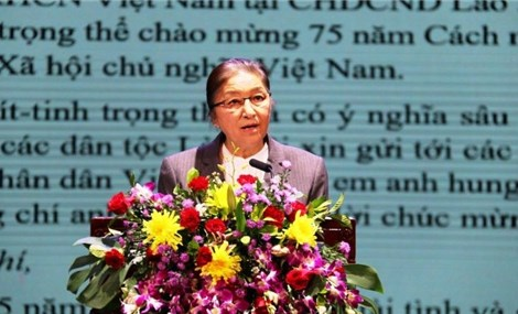 Laos holds meeting to celebrate Vietnam's 75th National Day