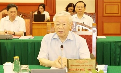 Party leader approves HCM City's preparations for 11th municipal Party Congress