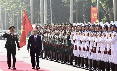 General Staff of Vietnam People's Army marks 75th founding anniversary
