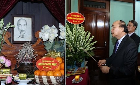 Prime Minister pays homage to President Ho Chi Minh