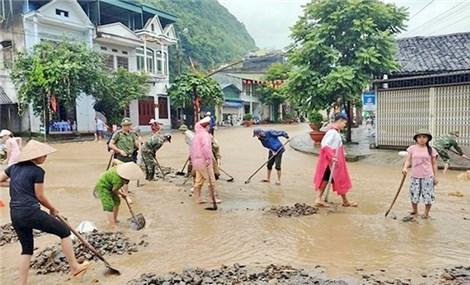 Heavy downpours wreak havoc in many localities