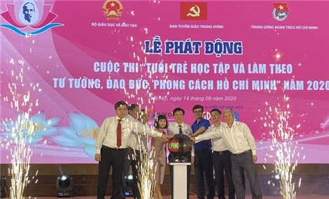 Contest on youth following Uncle Ho's thought, morality and lifestyle launched in education sector
