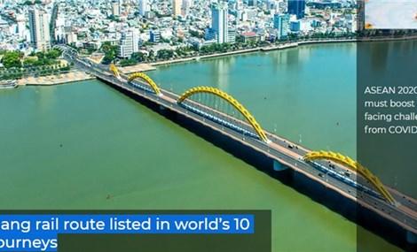 Hanoi-Da Nang rail route listed in world's 10 best train journeys