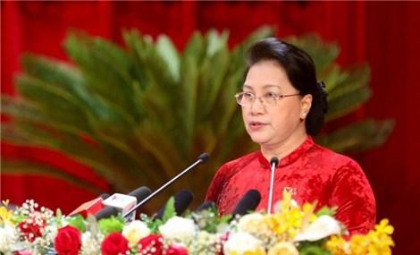 Top legislator attends Quang Ninh Party organisation's congress