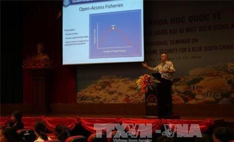 有关保障东海环境安全的国际研讨会国际法必须得到尊重