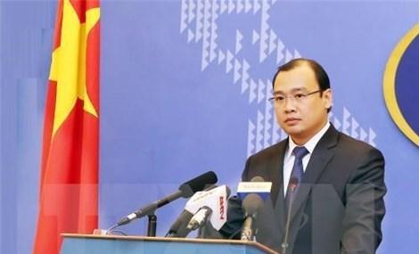 外交部发言人黎海平有关各方需尊重越南主权