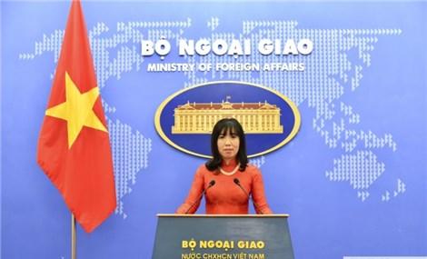越南坚持在国际法基础上和平解决东海问题