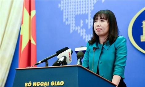 外交部发言人黎氏秋姮越南坚决反对侵犯越南主权的活动