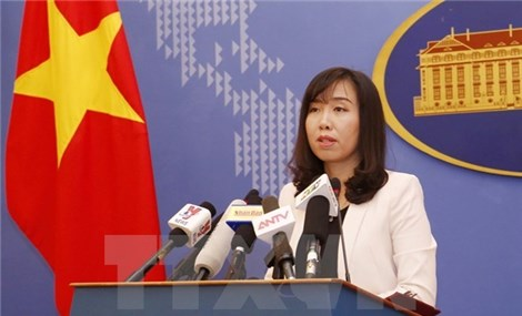 外交部发言人黎氏秋姮要求有关各方尊重越南对长沙群岛的主权