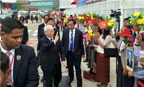柬媒阮富仲总书记访柬有助于提升两国关系