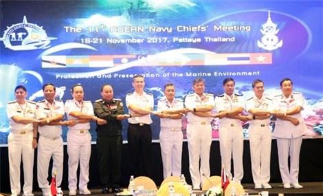 东盟各国海军加强合作保护与维护海洋环境