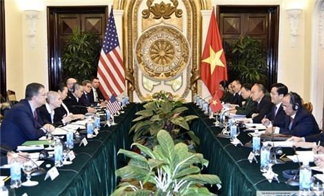 第九次越美政治、安全、国防对话在河内举行
