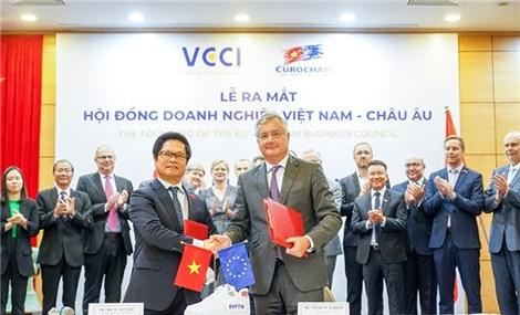 Thành lập Hội đồng Doanh nghiệp Việt Nam – Châu Âu EVBC