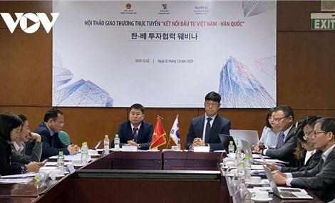 Thu hút đầu tư Hàn Quốc nâng trình độ công nghệ và năng lực Việt Nam