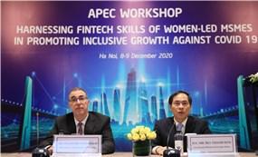 APEC Phục hồi doanh nghiệp do phụ nữ làm chủ thông qua tài chính số