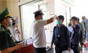 Đồng Tháp đón nhận người dân trở về từ Campuchia giữa mùa dịch Covid-19