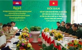Nhân dân biên giới Việt Nam - Campuchia thực hiện tốt hiệp ước, quy chế vùng biên