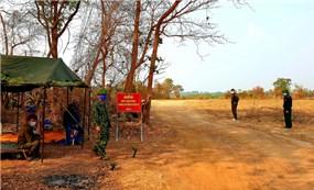 Chốt chặn nơi biên giới Việt Nam - Campuchia Nhiệm vụ nặng nề, thách thức khó khăn