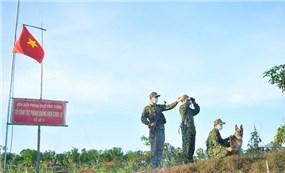 Bộ đội Biên Phòng Đồng Tháp Giữ vững niềm tin nơi biên cương