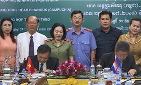 Kiên Giang và Preh Sihanouk nâng cao quan hệ hữu nghị Việt Nam - Campuchia