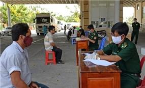 Tây Ninh hỗ trợ công dân nhập cảnh từ Campuchia về nước