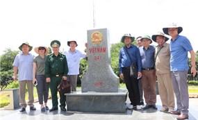 Khảo sát tình hình biên giới tỉnh An Giang