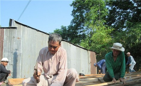 Building a cosy home for border zone people to have their livelihood stabilized