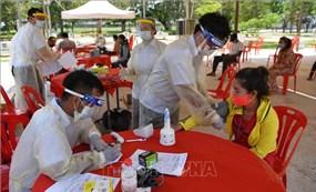 Chính phủ Campuchia hỗ trợ các tỉnh giáp biên giới Thái Lan cách ly lao động về nước
