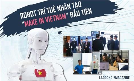 """Trí nhân – robot giáo dục trí tuệ nhân tạo """"make in Vietnam"""" đầu tiên"""