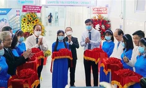 胡志明市阮知方医院将达到日本标准的血液透析中心投入运行