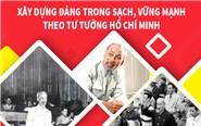 Infographic: Xây dựng Đảng trong sạch, vững mạnh theo tư tưởng Hồ Chí Minh