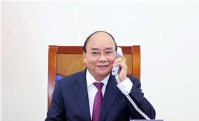 Thủ tướng Nguyễn Xuân Phúc điện đàm với Thủ tướng Úc Scott Morrison