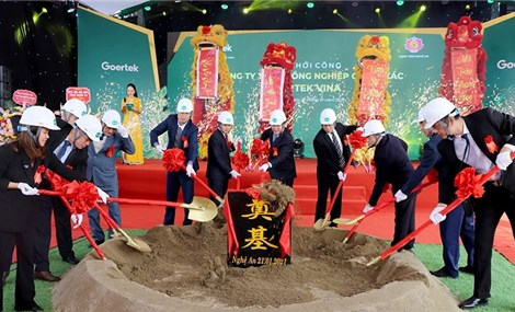 Work commences on US$100 million smart electronics factory in Nghe An