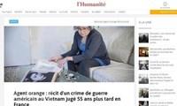 """Đánh giá của báo chí Pháp về""""vụ kiện lịch sử"""" vì nạn nhân da cam Việt"""