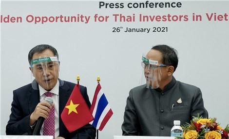 Cơ hội vàng cho các nhà đầu tư Thái Lan tại Việt Nam