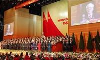 Ban Chấp hành Trung ương khóa mới ra mắt, bế mạc Đại hội XIII