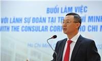 Sở Ngoại vụ TP Hồ Chí Minh tổ chức gặp mặt đại diện Lãnh sự các nước