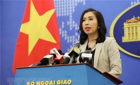 Phản ứng của Việt Nam về việc Trung Quốc thông qua Luật Cảnh sát biển