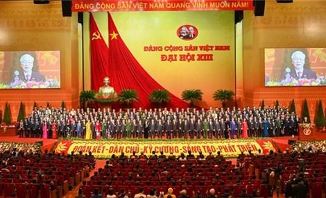 越南共产党第十三次全国代表大会闭幕
