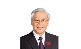 越共中央总书记、国家主席、中央军委书记阮富仲简历