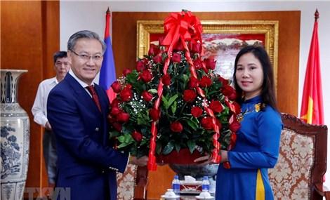 Lào gửi điện mừng nhân dịp 91 năm thành lập Đảng Cộng sản Việt Nam