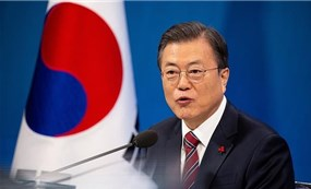 Tổng thống Hàn, Pháp chúc Tết bằng tiếng Việt