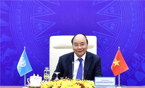 Thủ tướng Nguyễn Xuân Phúc dự phiên Thảo luận trực tuyến của Hội đồng Bảo an LHQ