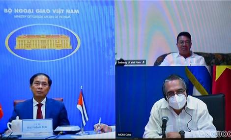 Việt Nam - Cuba tham khảo chính trị cấp Thứ trưởng Ngoại giao lần thứ VI