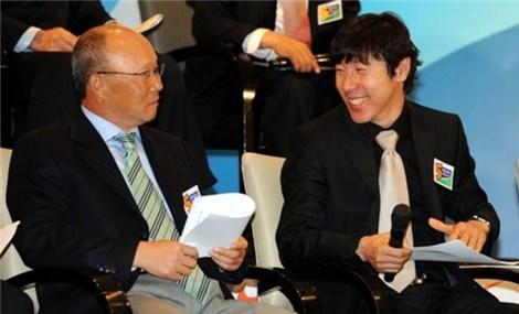 HLV Park Hang Seo có bị bắt bài bởi đồng hương Shin Tae-yong?
