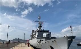 Tàu chiến Pháp thăm Việt Nam, ủng hộ tự do hàng hải ở Biển Đông