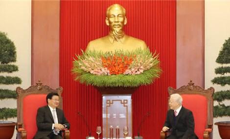 Sẽ làm hết sức mình để mối quan hệ đoàn kết đặc biệt Việt-Lào ngày càng phát triển